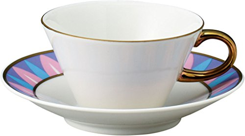 Maebata Disney Beauty and The Beast Teacup and Saucer 51081