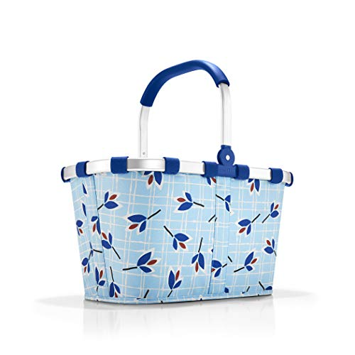 reisenthel carrybag blue leaves Maße: 48 x 29 x 28 cm/Volumen: 22 l