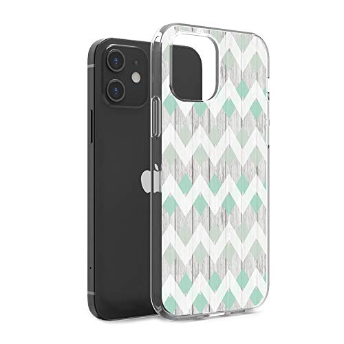 CasesByLorraine Compatible con iPhone 12 Mini 5.4 pulgadas, funda protectora flexible de gel suave de TPU para iPhone 12 Mini de 5.4 pulgadas (versión 2020)