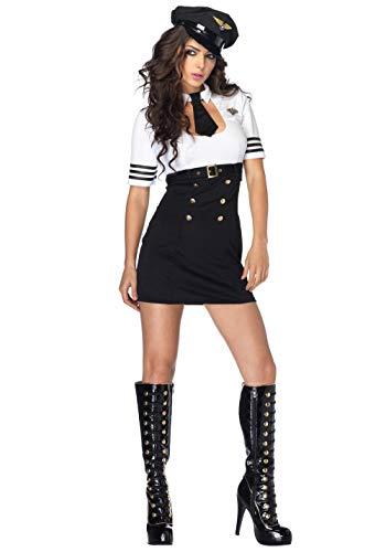 Gbcyp vrouwelijke stewardess kostuum