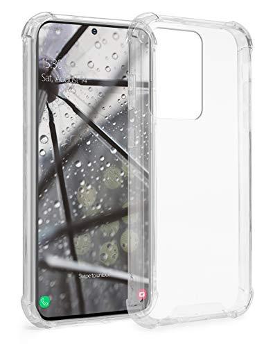 MyGadget Funda Protectora en Silicona TPU para Samsung Galaxy S20 Ultra - Case Resistente Antigolpes – Cover Dura y Protective - Cómoda y Ligera Transparente