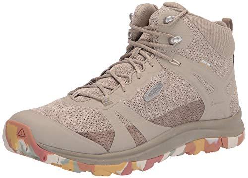 Preisvergleich Produktbild KEEN Damen Terradora II MID WP-W Hiking Boot,  Brick Dust / Birch