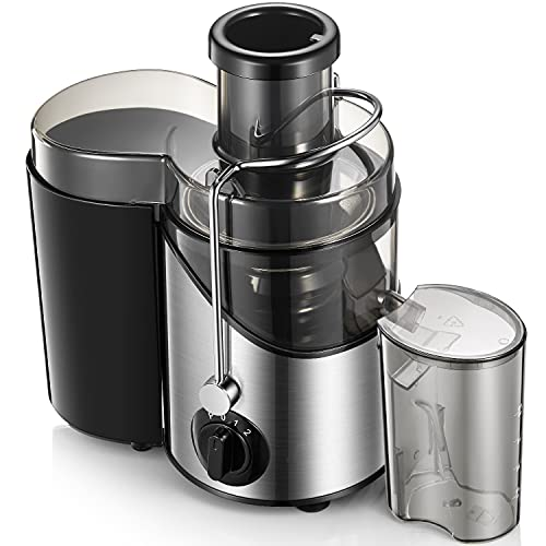 Juicer Machines 3'' Wide Mouth, Juice Extractor Easy to...