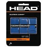 HEAD Super Comp Racquet Overgrip - Tennis Racket Grip Tape - 3-Pack, Black