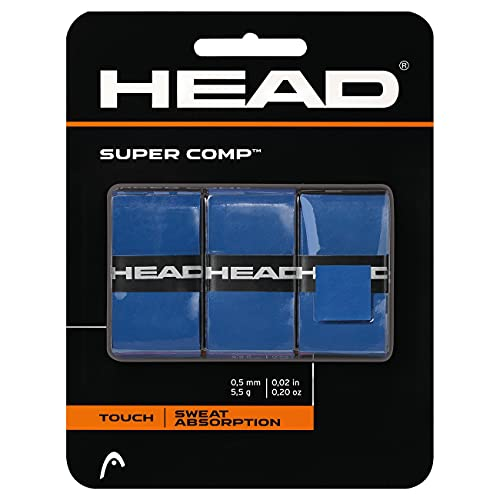 HEAD Supercomp, Tennis Accessori Unisex-Adulto, Blu, Taglia unica