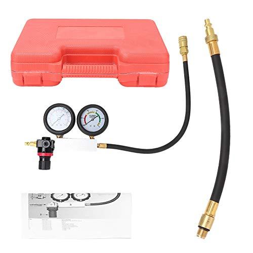 Save %5 Now! Gorgeri Cylinder Leak Tester, Cylinder Leakage Detector Engine Pressure Tester Leakdown Compression Gauges Tool Kit