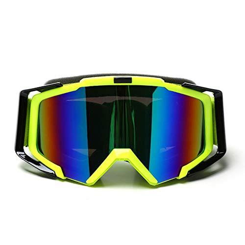 SMFYY motorfiets uitgerust met off-road bril, dubbele laag anti-mist skibril, rijden outdoor bril