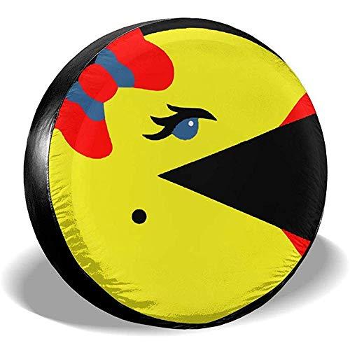 Du-shop Ms Pac-Man Staubdicht wasserdichte Reifenabdeckung Reserverad Reifenabdeckung Passend