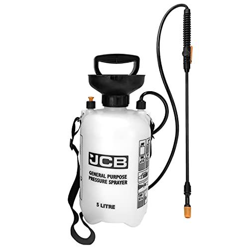 JCB Garden Tools - Garden Sprayer - General Use Sprayer - 5 Litre Pressure...