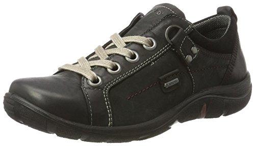 Legero Milano Damen Sneaker, Schwarz (Kombi 02), 37.5 EU (4.5 UK)