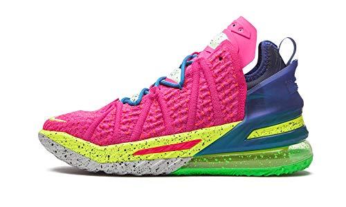 Nike Mens Lebron 18 DB8148 600 Los Angeles by Night - Size 9.5