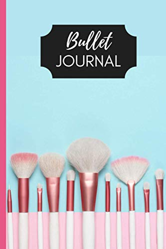 Bullet Journal Makeup  Quaderno appunti puntinato con disegni Makeup in ogni pagina Brainstorming Mappe Concettuali