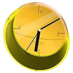 BUGATTI - Glamour Wall Clock Ø33 cm. Yellow