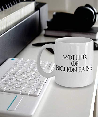 N\A Bichon Frise Taza Taza Regalo Madre de Bichon Frise Bichon Frise Regalos Perro Bichon Frise Divertido Bichon Frise Taza Taza de café Regalos Madre de Dragones