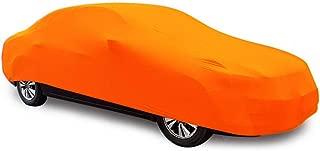 YDS SHOP Indoor Dedicated Car Cover,Custom Fit Elastic Car Clothing for C̒ḦR̂ỸSL̄E̒Ŕ̃,Garage,Auto Show,Car Dealer Use Orange Car (Color : 300C)