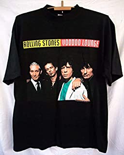 free shipping shirt The Rolling Stones Voodoo Lounge world tour 9495 concert tour XL Mick Jagger Keith Richards Charlie Watts Ronnie Wood T-Shirts for Women Men Girl Boys Cute.