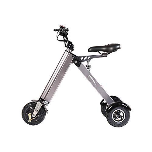 TopMate ES31 Electric Scooter Mini Foldable Tricycle Weight 14KG with 3 Gears Speed and 3 Shock Absorbers | Suitable for Travel and Leisure Activities