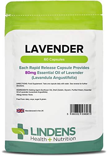 Lindens - Lavendelol (80 mg), 60 Capsules