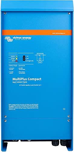 Victron Energy MultiPlus 2000VA 24-Volt Pure Sine Wave Inverter 50 amp Battery Charger