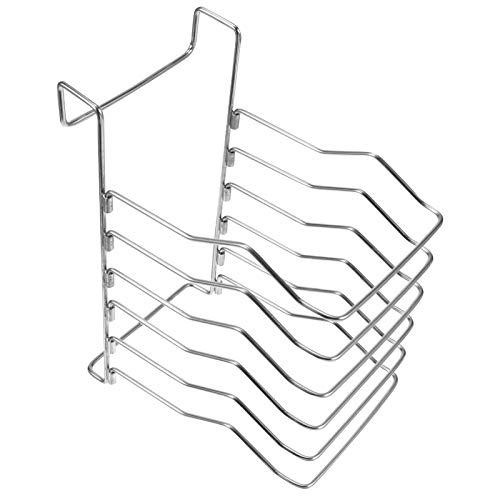 BESPORTBLE Sous Vide Rack 304 Divisor de Carne de Acero Inoxidable Soporte de Rack Desmontable Cocina Máquinas Sous Vide Silver