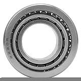 Rodamientos de rueda de 4 piezas, rodamiento de rodillos cónicos para máquinas herramienta,...