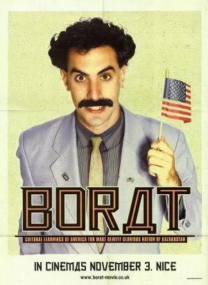 Borat Sacha Baron Cohen Imported Movie Wall Poster Print 30cm X 43cm Brand New Amazon Co Uk Kitchen Home