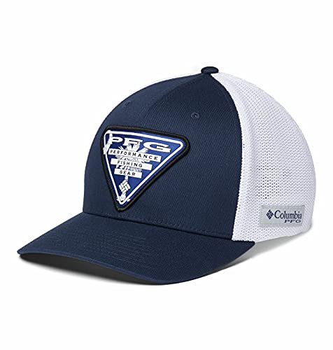 Columbia Unisex PFG Mesh Stateside Ball Cap,Collegiate Navy, South Carolina Triangle,Large/X-Large
