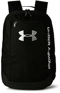 Under Armour UA Hustle Backpack LDWR Mochila Hombre Negro (Black/Black/Silver 001) Talla única