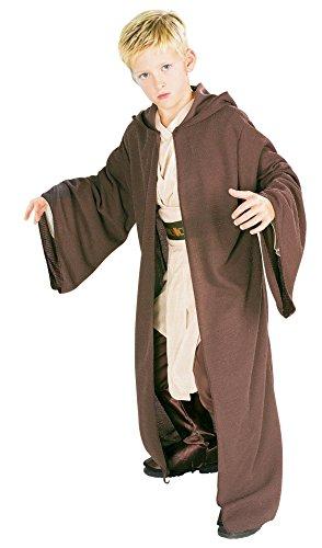 rubies 882025 - Bata de Jedi para disfraz de niño , Marrón, L (8 - 10 años)