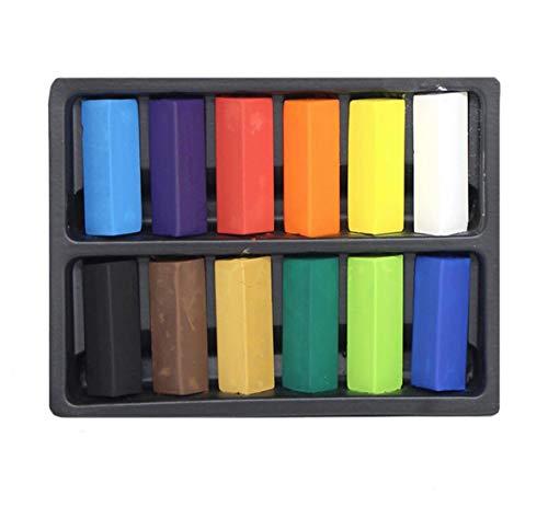 Artway - Lot de pastels tendres à dessin - 12 couleurs - Simple