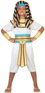 Atosa-23306 Disfraz Egipcio, color dorado, 7 a 9 años (