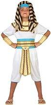 Atosa-23306 Disfraz Egipcio, Color dorado, 7 a 9 años (23306