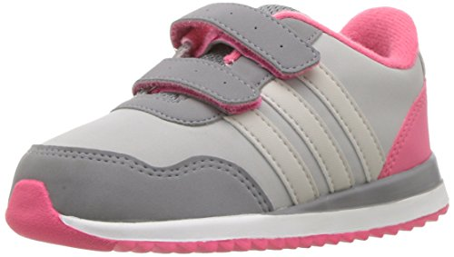 adidas NEO Kinder V Jog Cmf Inf Sneaker, Grau (Grau Zwei/Perlgrau/Grau Drei), 23 EU