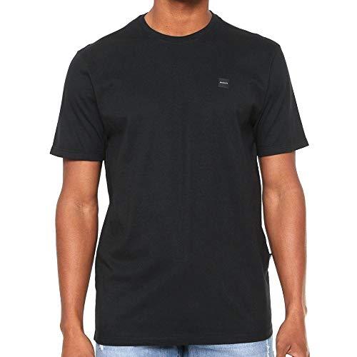 Camiseta Oakley Patch 2.0 Tee Blackout Cor:Preto;Tamanho:M