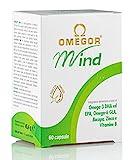 OMEGOR® Mind | Integratore per la memoria e le funzioni congnitive | Con Omega 3 DHA ed estratto di...