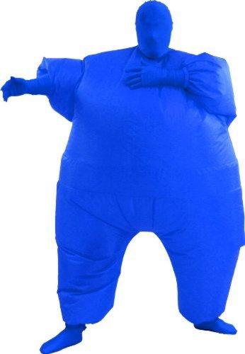 Inflatable Teen Chub Suit Costume (Blue)