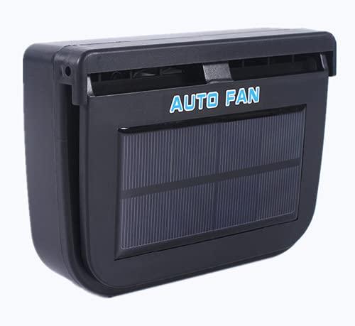 Newest Car Ventilation Fan,Solar Sun Power Car Auto Fan Air Vent Cool Cooler Ventilation System Radiator Exhaust Heat Fan Car Window Cooling Fans