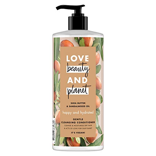 Love Beauty and Planet Shea Butter and Sandalwood Oil Vegan Gentle...