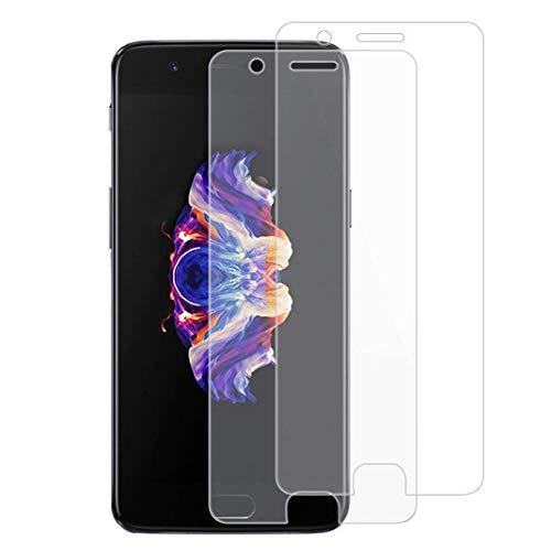 X-Dision [2 Pack Gehärtetes Glas Kompatibel mit OnePlus 5,[Ultrabeständig,Blasenfrei, Display Schutzfolie für OnePlus 5