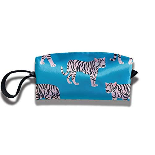 Bbhappiness Pouch Handbag Cosmetics Bag Case Purse Travel & Home Portable Make-up Receive Bag Creative Tiger