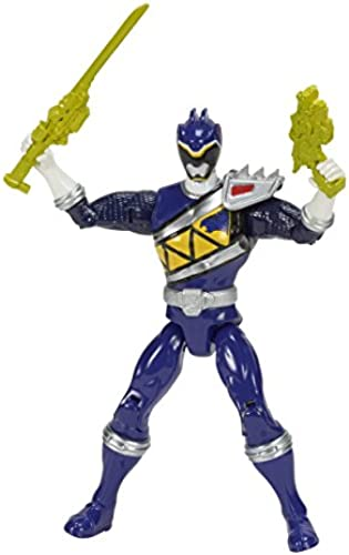 (Blau Ranger) - Power Rangers Dino Super Charge Action Figure, 13cm , Blau