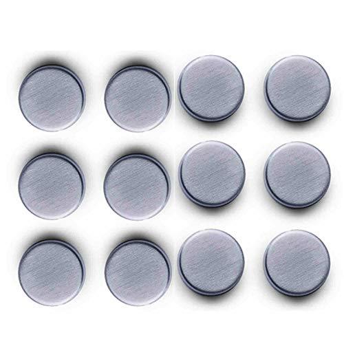 SIDCO Extra Starke Magnete 12 Stück Magnet Magnettafel Glasboard Memoboard Edelstahl