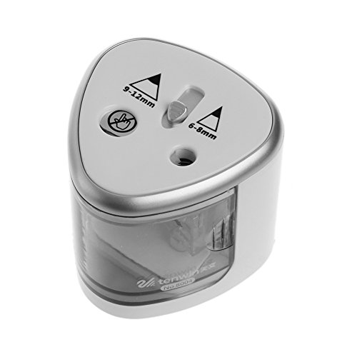 Sacapuntas eléctrico WentingZWT diseño 2 agujeros