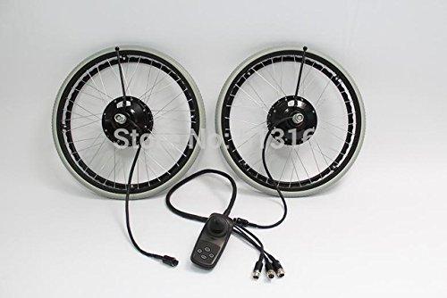 HYLH 24V 180W 24'Kits de conversión de Silla de Ruedas eléctrica sin escobillas con Freno de imán eléctrico