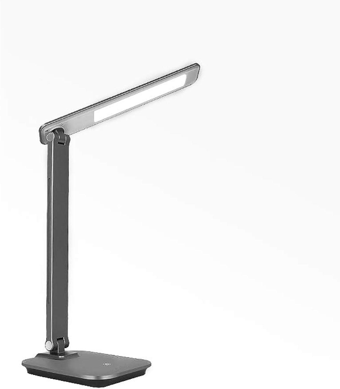 WPTD Tischlampe LED Tischlampe Augenschutz Tischlampe Wiederaufladbare Wiederaufladbare Wiederaufladbare Lampe Lerntischlampe Nachttischlampe Tischlampe Tischlampe Touch Einstellbare Helligkeit und Farbe des Lichts (Farbe   A) B07H72RF6F | Eleganter Stil  4fa601