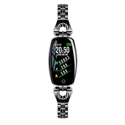 wertyhy Smart Uhr Mode Frauen Smart Watch Blutdruck Herzfrequenz Schlaf Monitor Schrittzähler Smartwatch Für IOS Android-Handys