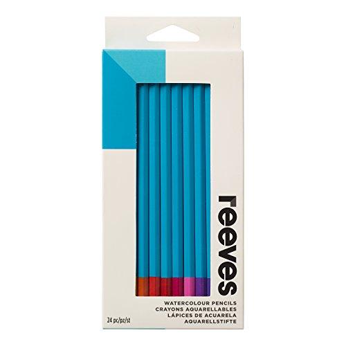 Reeves Watercolor Pencils, Set of 24