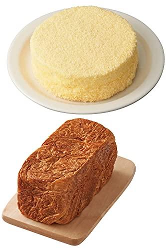 LeTAO(ルタオ)奇跡の口どけプレミアムセット (ドゥーブルフロマージュ+クロワッサン食パン)