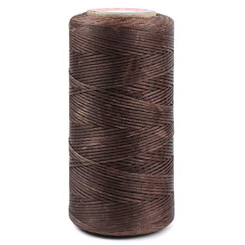 Flat Waxed Sewing Thread Wax Cord (Brown)