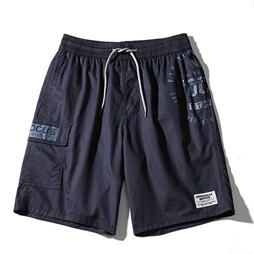MCSZG Pantaloncini Uomo Estate Casual UomoCotone Stampa Sportiva Pantaloncini Stile Harajuku Pantaloncini Cargo Comodi Traspiranti Allentati Uomo
